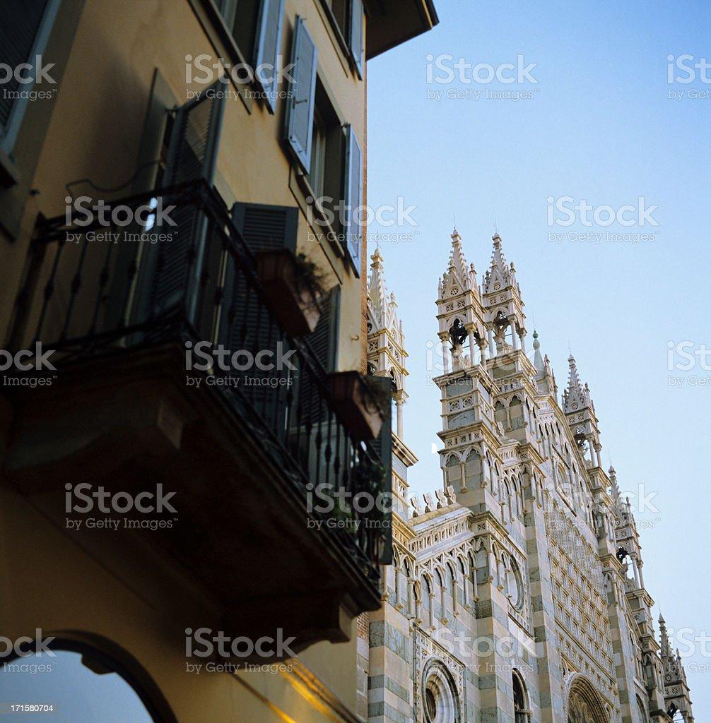 Il Duomo di Monza - Northern Italy landmark stock photo
