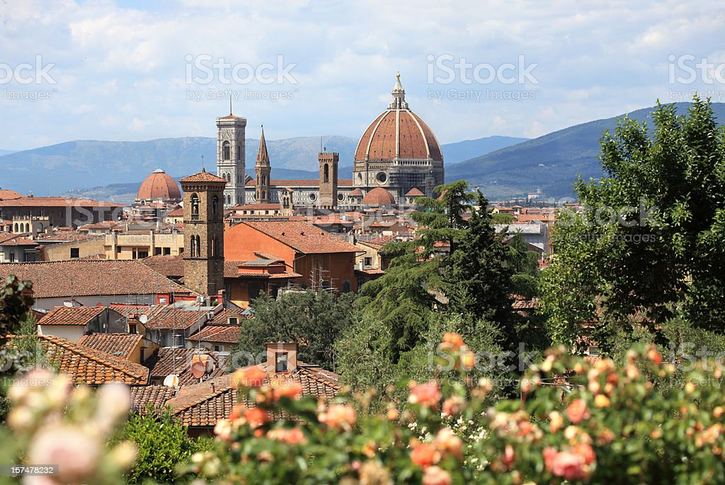 il Duomo in Florence , Tuscany Italy royalty-free stock photo