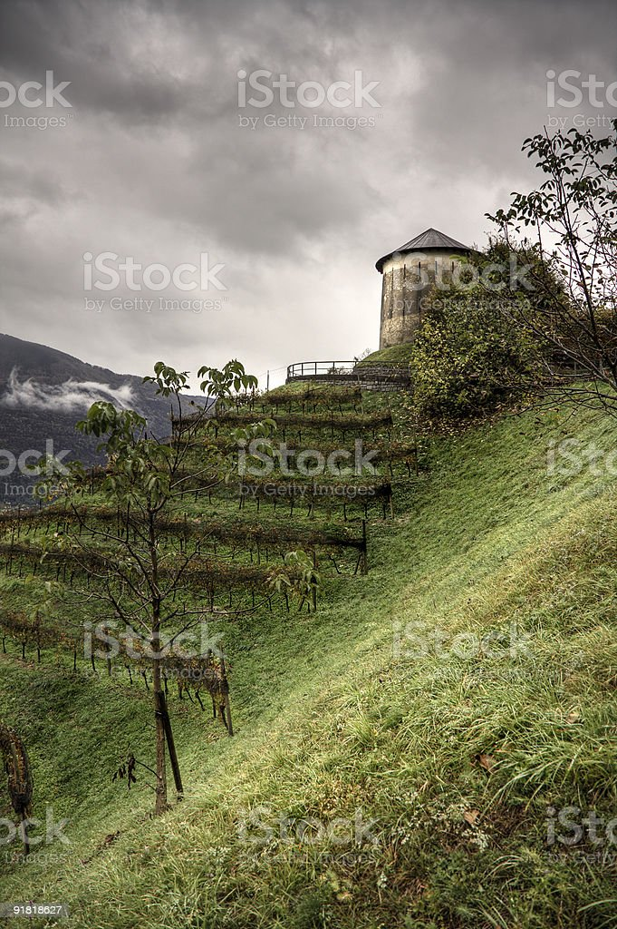 Il fortino royalty-free stock photo