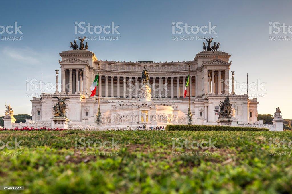 Il Vittoriano Rome stock photo