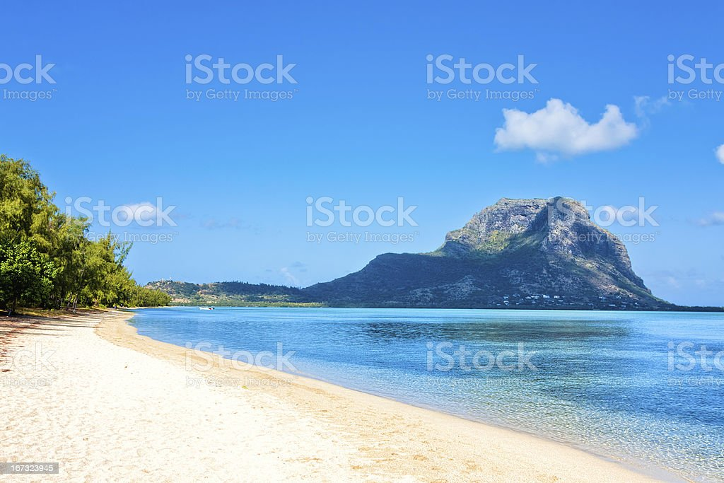 Ile aux Benitiers, Mauritius, Africa stock photo