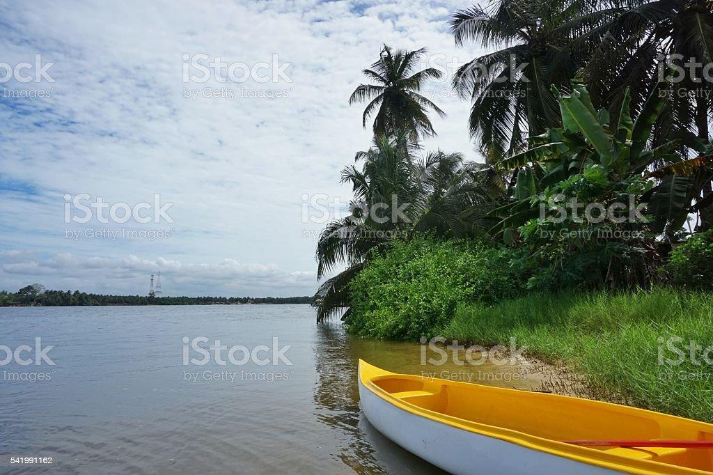 Ile Boulay Abidjan Ivory Coast stock photo