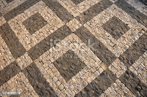 iles limestone and basalt squares mosaic white and black color pattern
