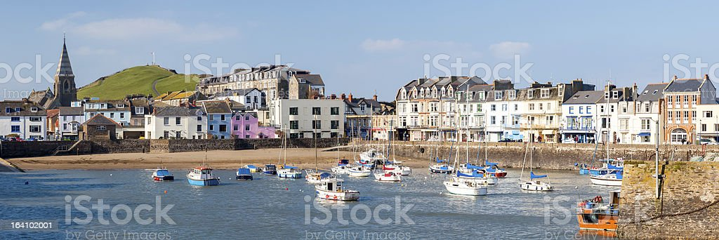 Ilfracombe Devon England stock photo