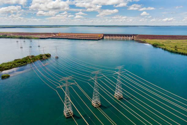ilha solteira hydroelectric power plant - энергия воды стоковые фото и изображения