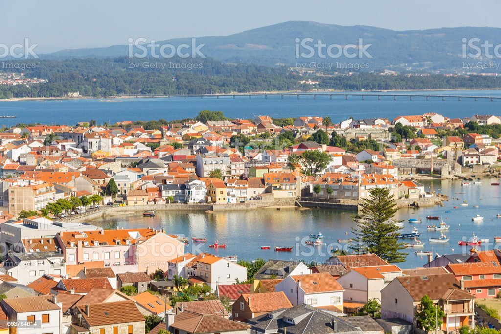 Illa de Arousa stock photo