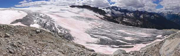 illecillewaet panoramic - british columbia glacier national park stock pictures, royalty-free photos & images