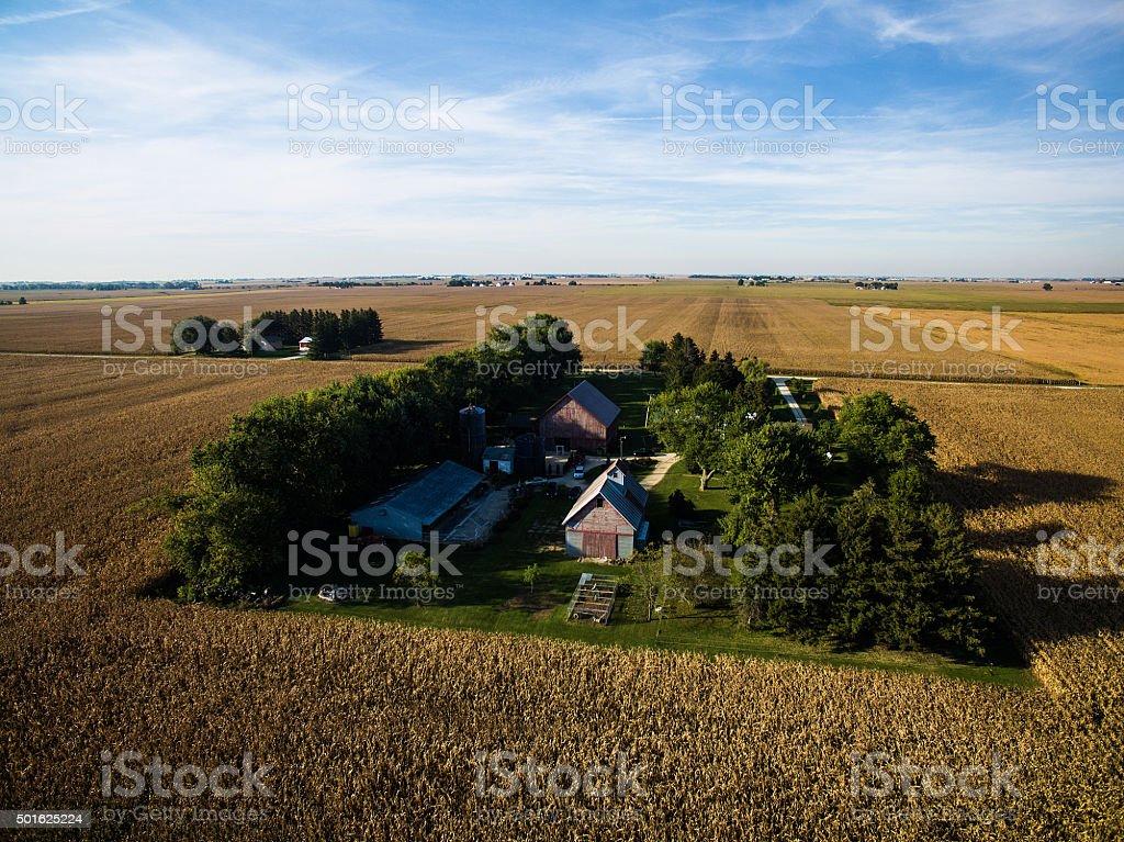 Illinois Farm stock photo
