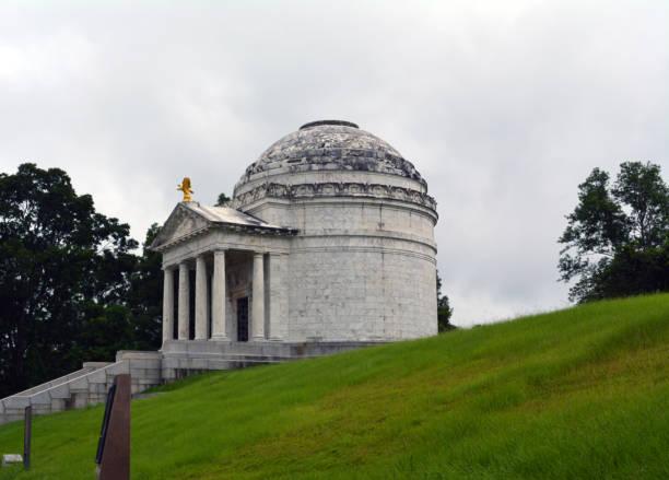 Illinois Monument stock photo