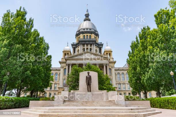 Illinois State Capital Building-foton och fler bilder på Abraham Lincoln