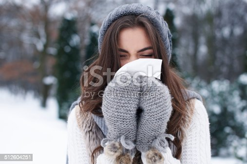 istock Illness in winter is very popular 512604251