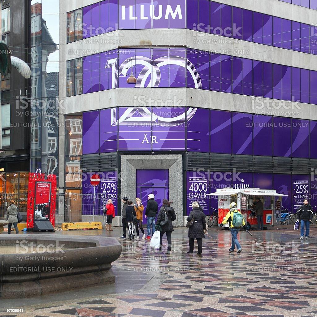 Illum, Copenhagen stock photo