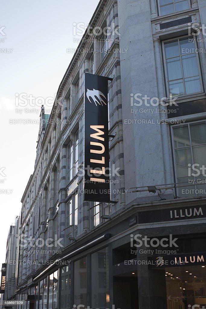 Illum Department Store stock photo