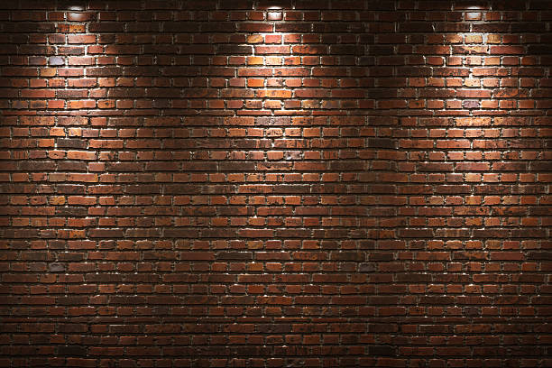 Beleuchtete Wand – Foto