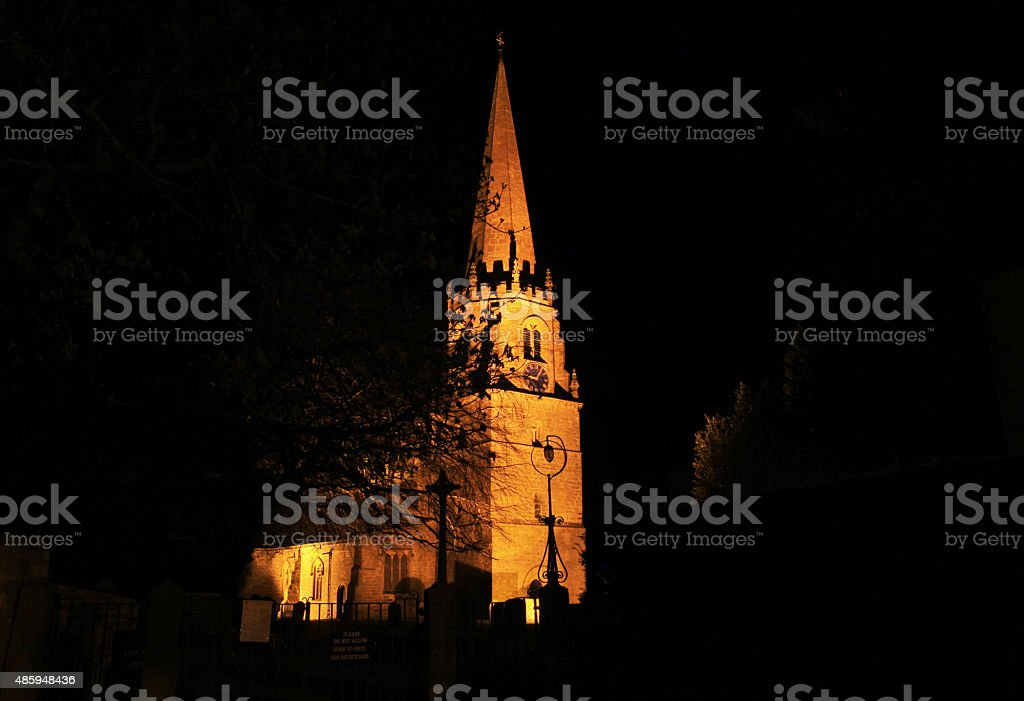 Illuminated Church royalty-free stock photo