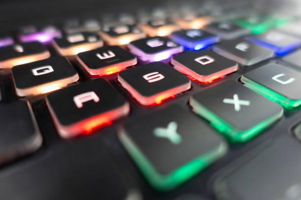 Beleuchtete Tastatur – Foto