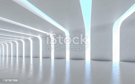 611897876istockphoto Illuminated corridor 1167907890