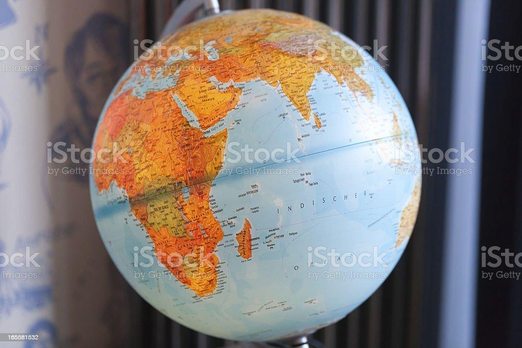 Illuminated Globe royalty-free stock photo