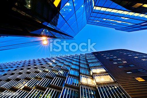 istock Illuminated Office Building 510562802
