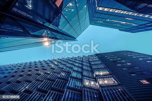 istock Illuminated Office Building 625298658