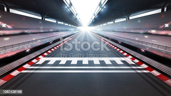 istock illuminated race track with motion blur 1062436168