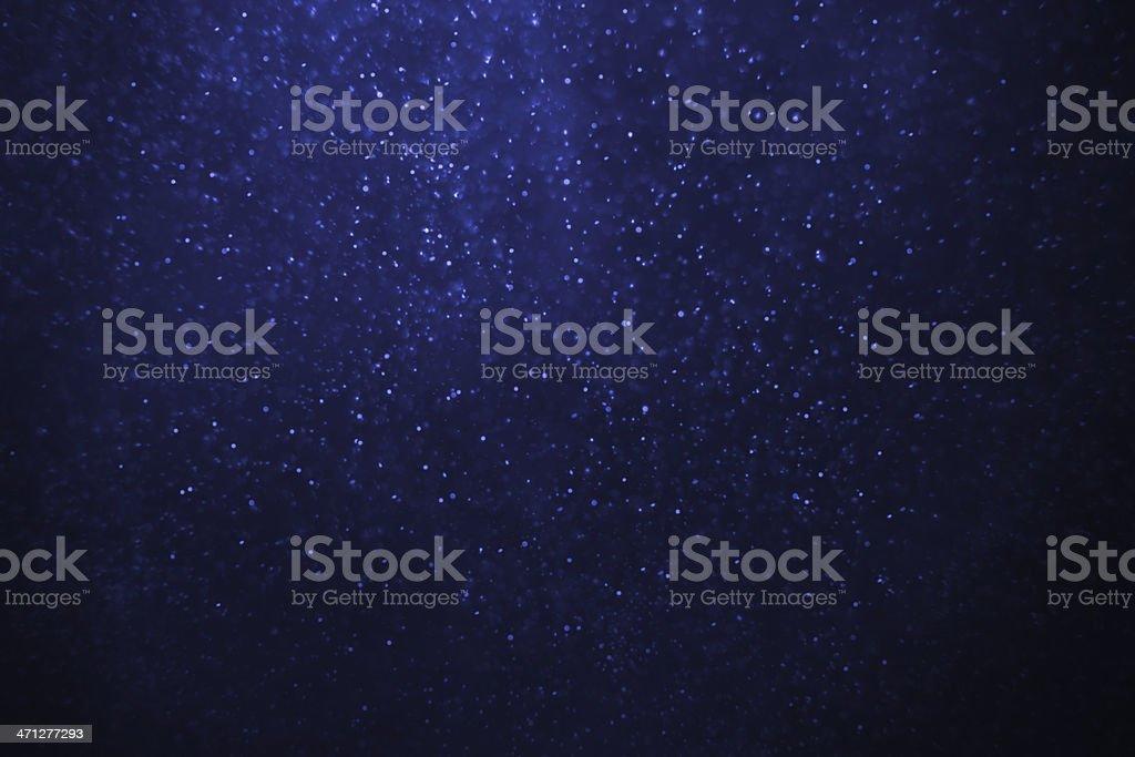 Illuminated snowstorm background royalty-free stock photo