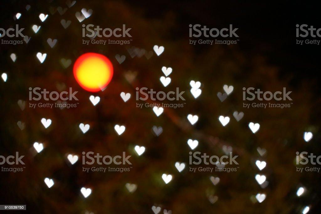 Illumination in Tokyo stock photo