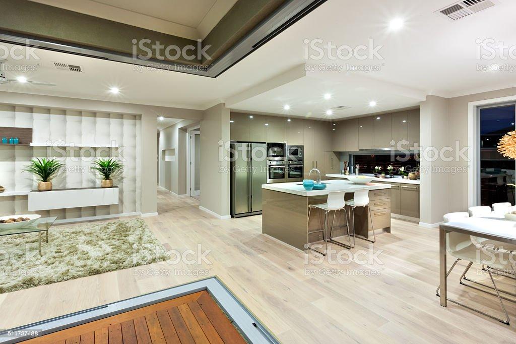 Illuminazione lilluminazione di interni di lusso casa notturno