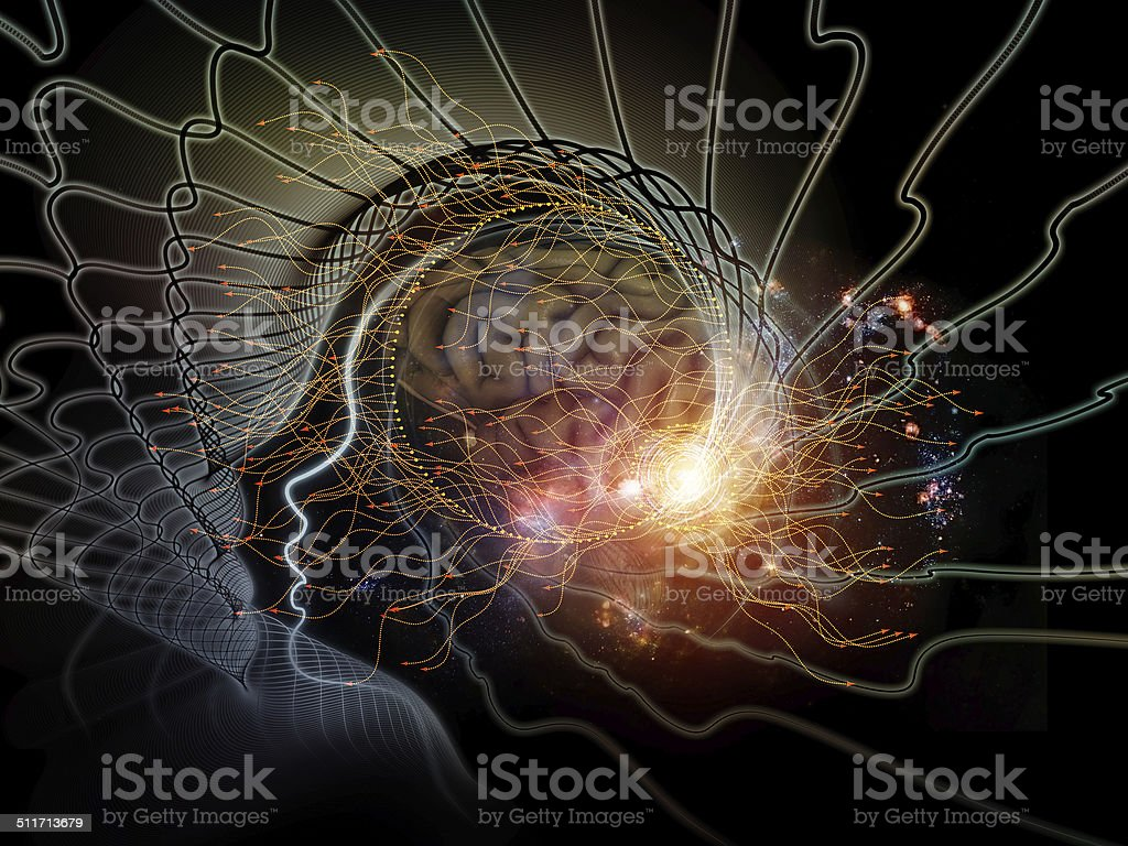 Illusions of the Mind stock photo