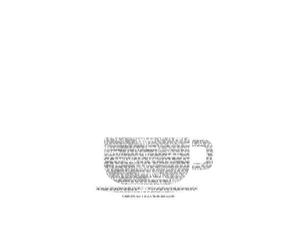 abstrakten kaffee tasse logo aus binären codes zu veranschaulichen - www kaffee oder tee stock-fotos und bilder