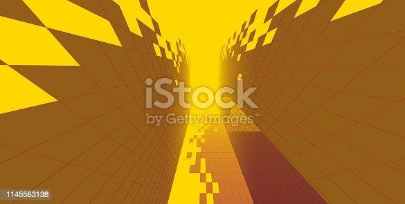 1145563376 istock photo 3D illustration architecture building. 1145563138