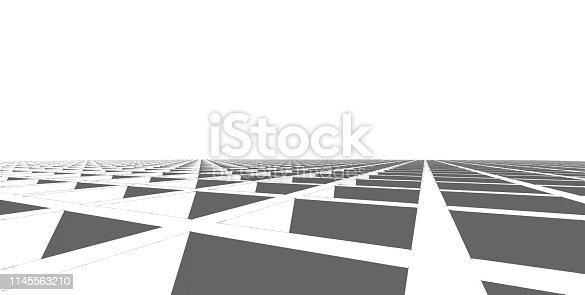 1145563376 istock photo 3D illustration architecture building. 1145563210