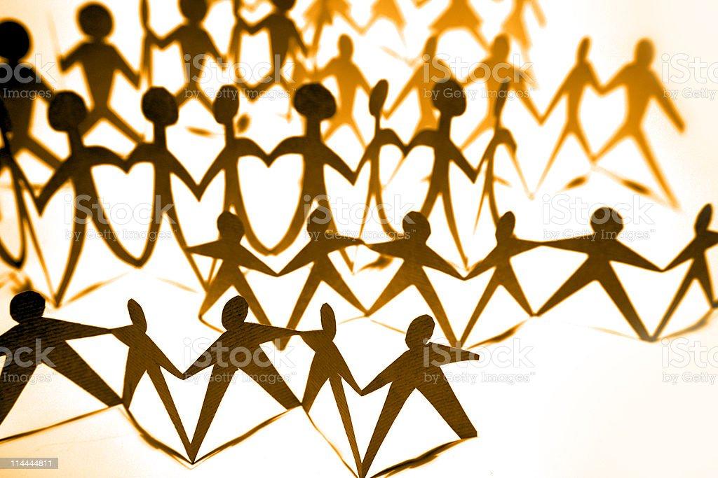 Crowd Lizenzfreies stock-foto