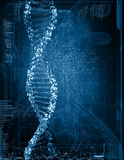 illustration of a dna stock photo