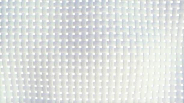 3D illustration of a fabric clothe fiber stock photo