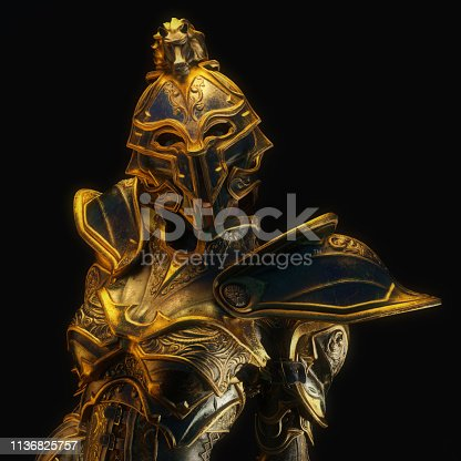istock 3D Illustration of a Fantasy Woman 1136825757