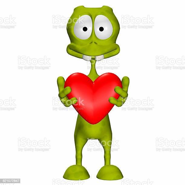 Illustration of a green alien holding a heart picture id521072847?b=1&k=6&m=521072847&s=612x612&h=2wp ylwjahs8h4irhphewgzbjsuzmynuvptxod5skm0=