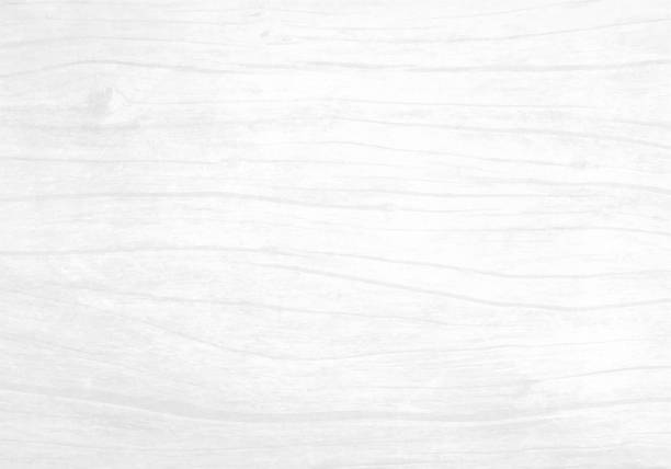 Illustration of an old off white cream, grey tinted colored rippled effect wooden, wall textured grunge background stock photo
