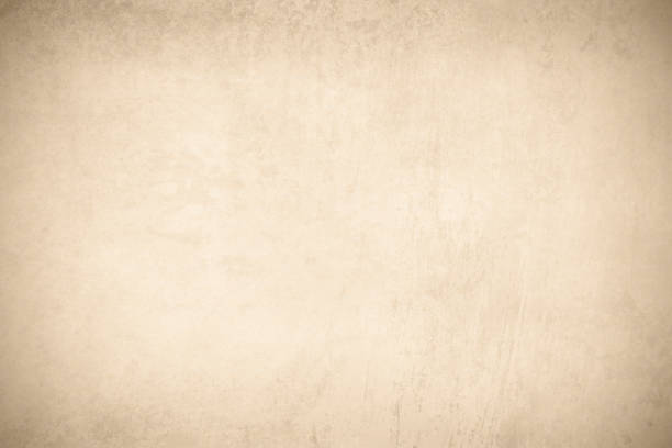 Illustration of beige brown color grungy blotched old background stock photo