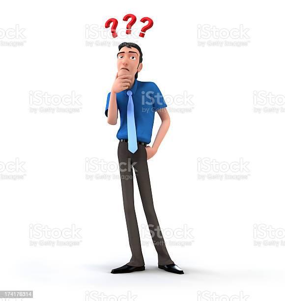 Illustration of businessman thinking with question marks picture id174176314?b=1&k=6&m=174176314&s=612x612&h= 8aqgiaglkiqmg3jis p8sjuhr6xvhsfssxiklcxpmy=