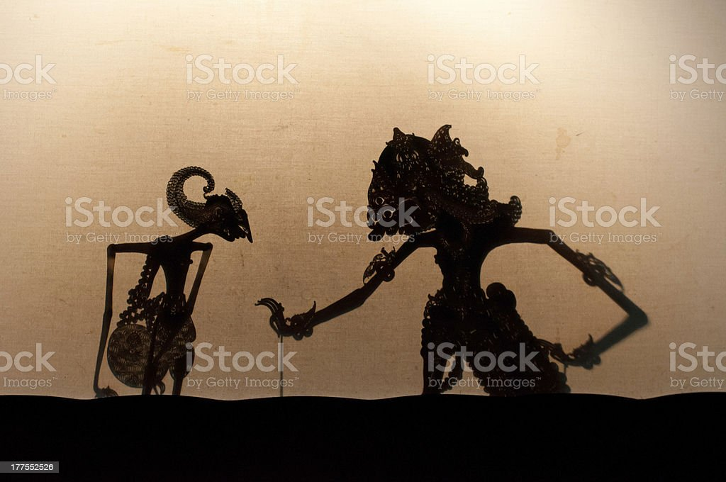 Illustration of creations on a tan background  stock photo