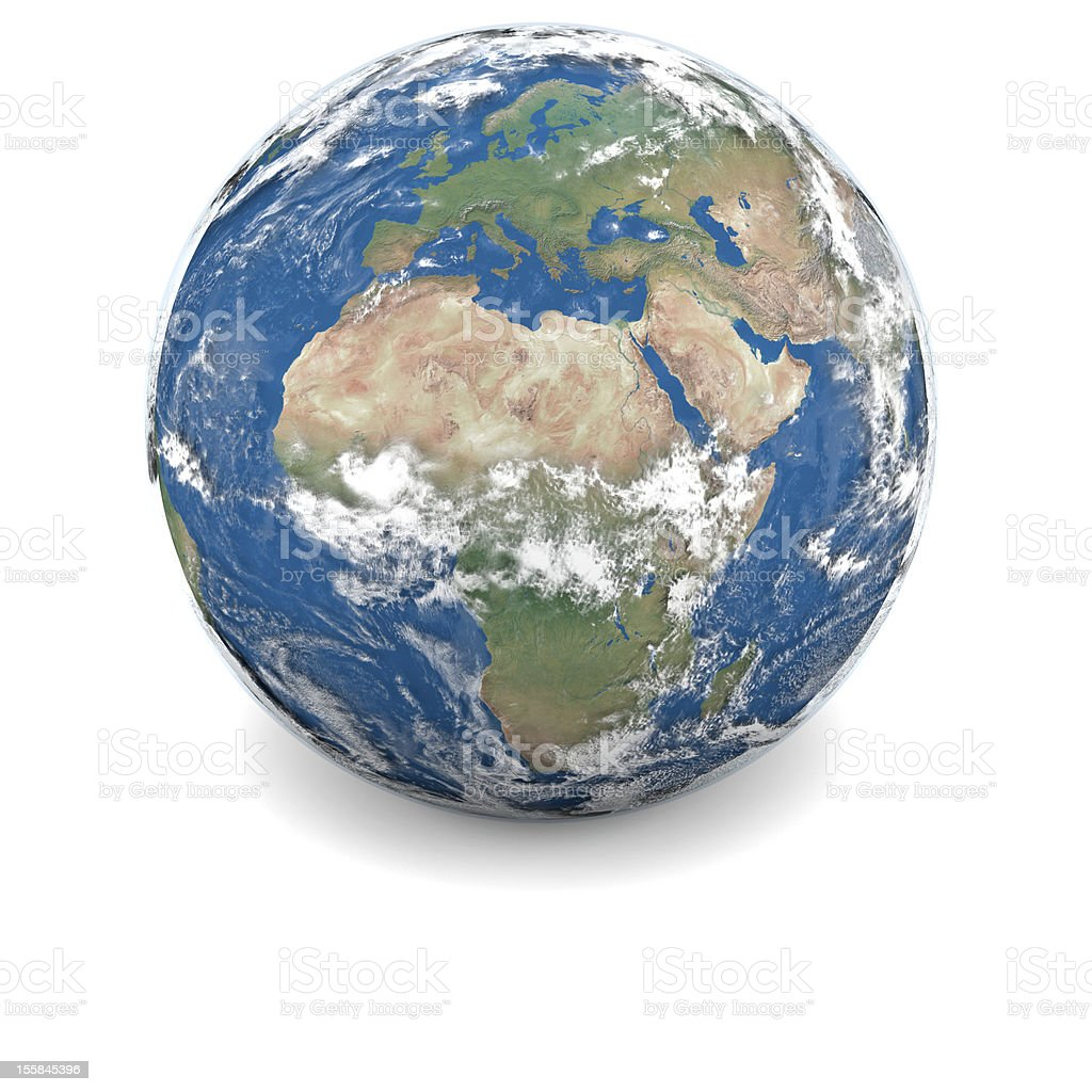 Illustration of Earth royalty-free stock photo