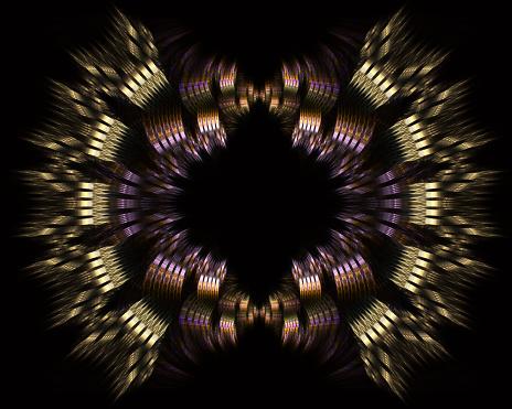 Illustratie Van Sneller Dan Licht Interstellaire Of Intergalactische Reizen Snelheid Van Het Licht En Hyperspace Stockfoto en meer beelden van Abstract