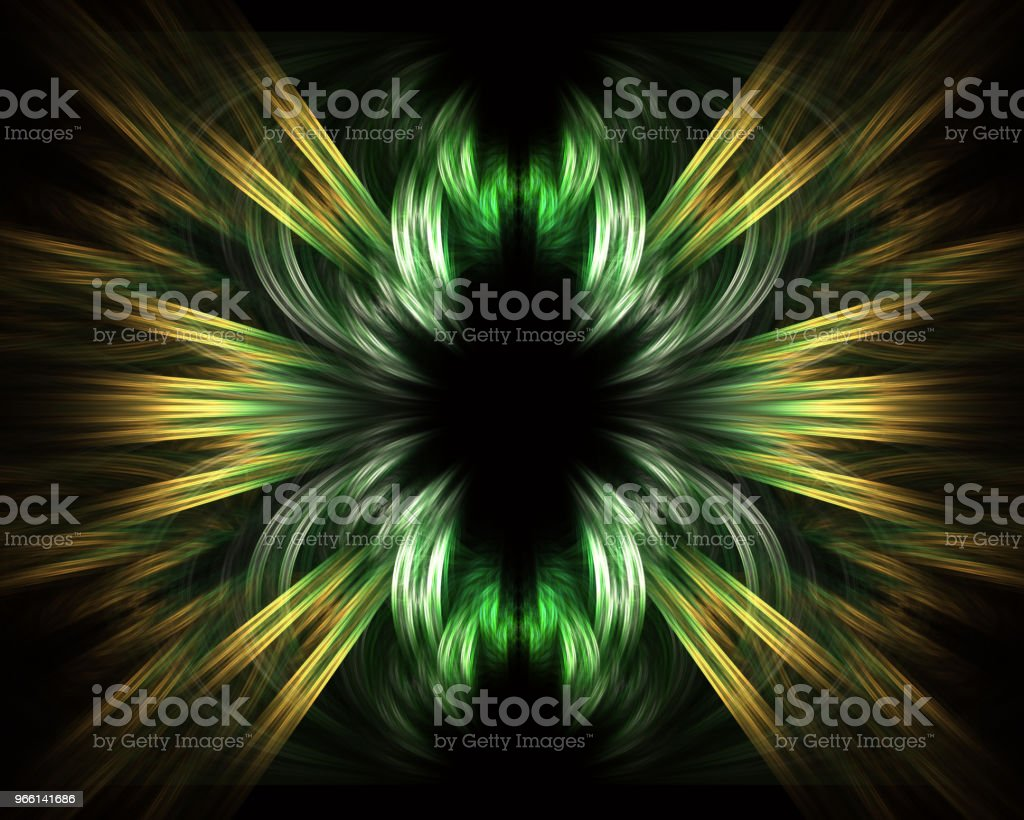 Illustration of faster than light (FTL) interstellar or intergalactic travel. Speed of light and hyperspace. - Royalty-free Abstract Stock Photo