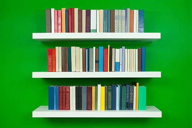 Wand Bücherregalen – Foto