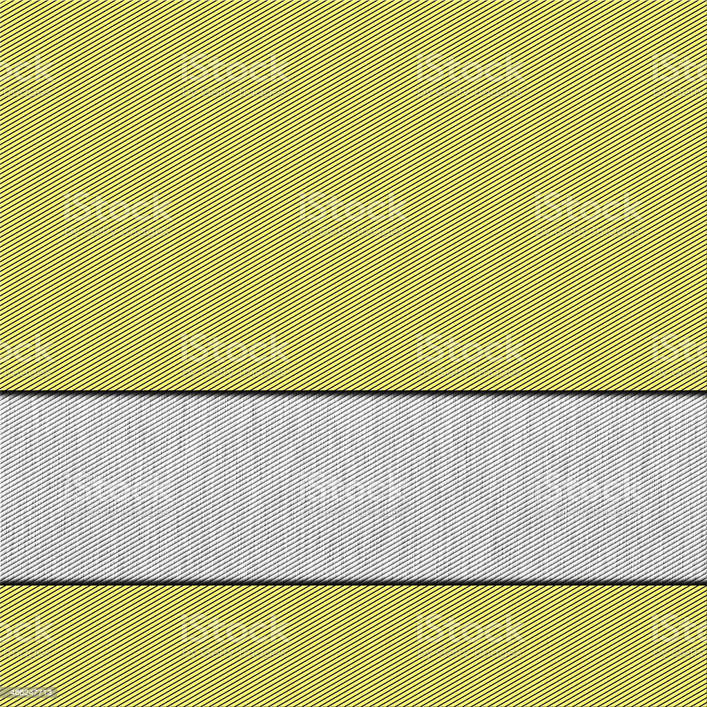 Illustration of gold and silver metal plate royalty-free stock photo