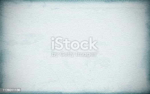 Illustration of rough blotched grey colored grunge effect wall texture background- horizontal . Criss cross Paper texture. Rough cement look. No text, No people. Empty. Copy space. Stained look. Paint brush stroke wall effect. Dark corners and edges, light whitish colour middle / center / centre.