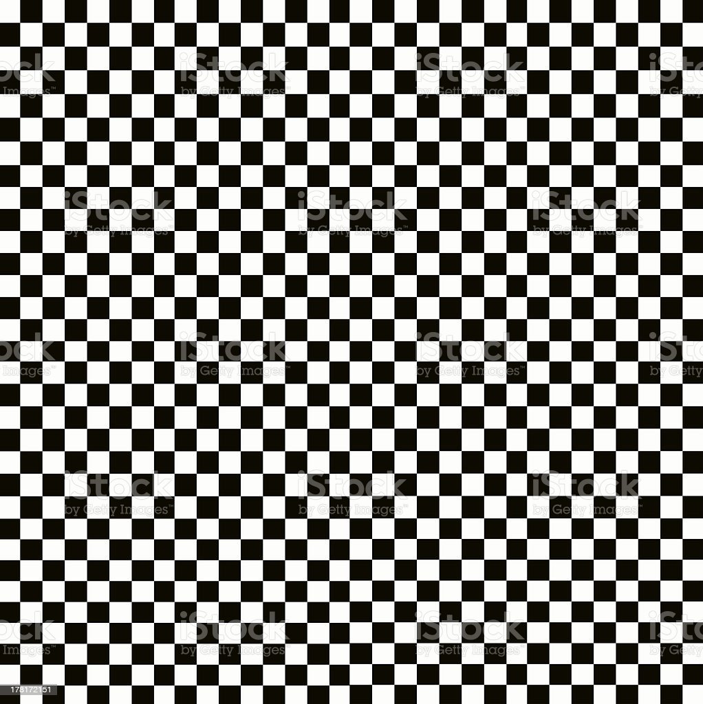 Illustration of grunge checker board, abstract background. stock photo