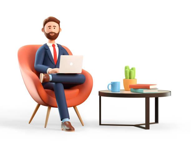 Illustration of happy smiling businessman in suit with laptop sitting picture id1248415323?b=1&k=6&m=1248415323&s=612x612&w=0&h=31qeg3isxn45kkn9gjt1zhavcjbbedi25ekua cwzze=