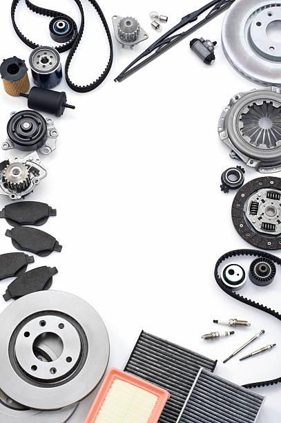 automotive parts - disque de frein photos et images de collection